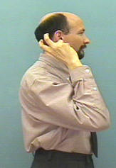 ASL sign for a cochlear implant
